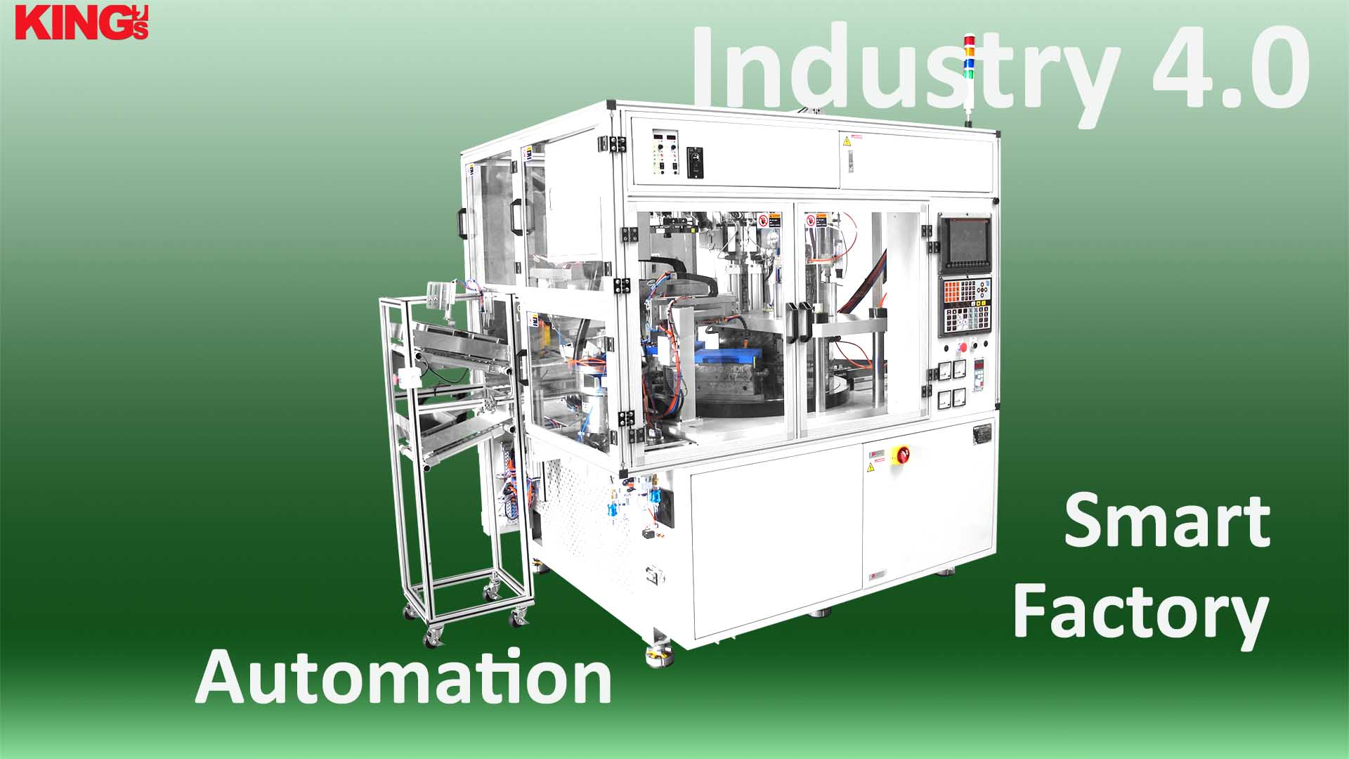 High customization of automation machinery