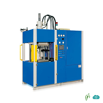 Vertical precise Rubber Injection Molding Machine with Inline Screw (first in -first out)