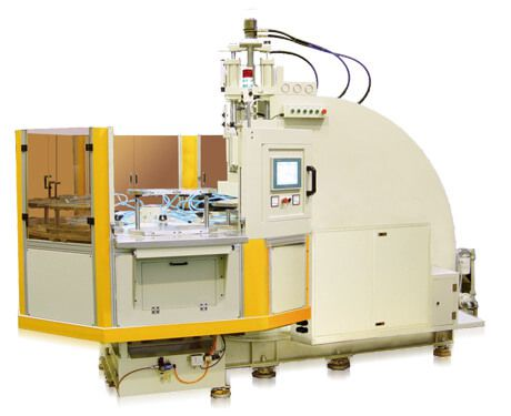 C Type 8 Station Rotary Table Injection Molding Machine
