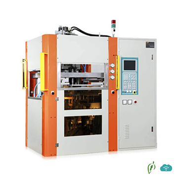 Vertical 4 station Core-rotate Injection Molding Machine